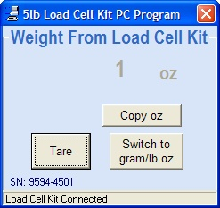 5lb Kit PC Software 3