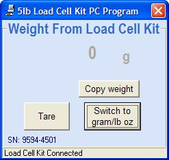 5lb Kit PC Software 2