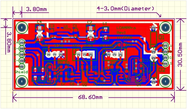 Load Cell Amplifier PRO PCB