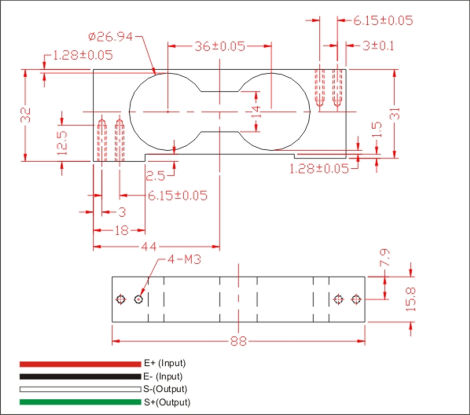 Force Load Cell Wiring Diagram - Facbooik.com